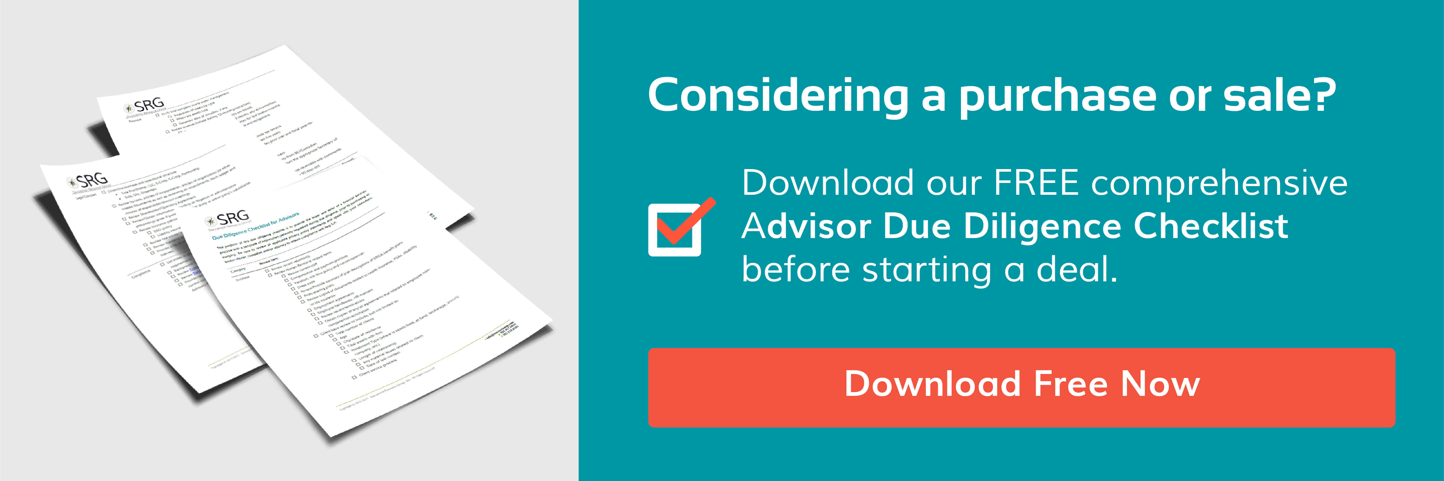 Succession Resource Group_Due Diligence Checklist