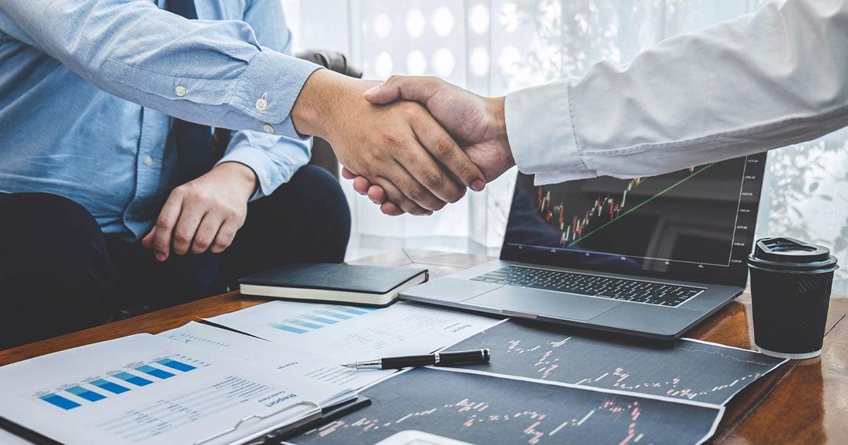 Handshaking acquistion lending